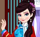 Elsa đến Trung Quốc
