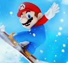 Mario trượt tuyết