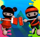 Ninja sơn tường 2